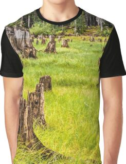 Field of stumps Graphic T-Shirt