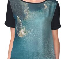 ireland clare cliffs of moher 2 Chiffon Top