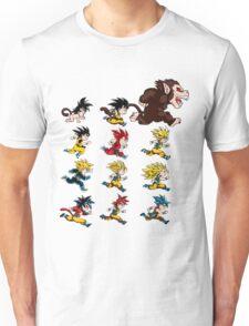goku evolution Unisex T-Shirt