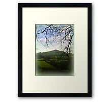 Brentor in the distance Framed Print