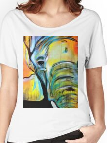 Sad elephant Women's Relaxed Fit T-Shirt