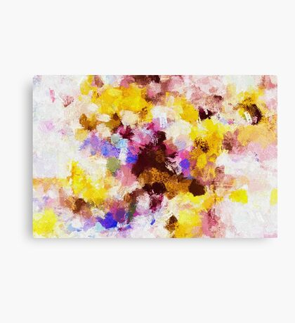 Abstract Oil Painting Canvas Print