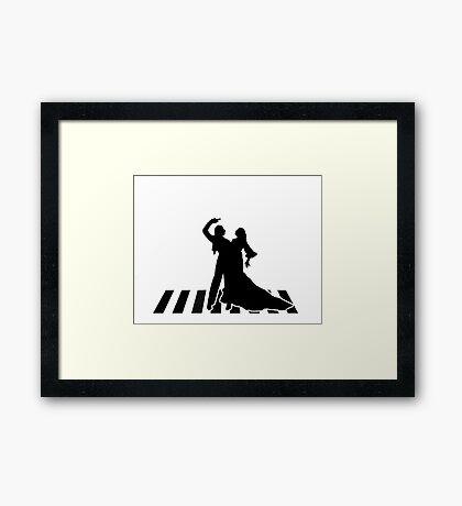flamenco dancers Framed Print