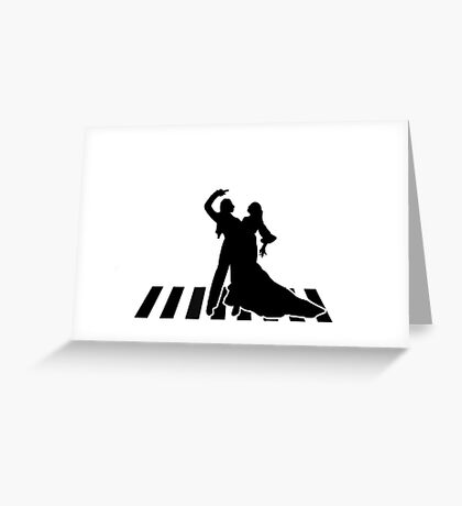 flamenco dancers Greeting Card