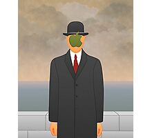 """""""Apple"""" – Magritte inspired design Photographic Print"""