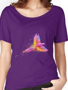 Colored Parrot Women's Relaxed Fit T-Shirt