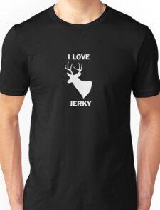 Deer T shirt I Love Deer Jerky t shirt Unisex T-Shirt