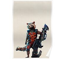 Rocket Raccoon from Guardians of the Galaxy Poster