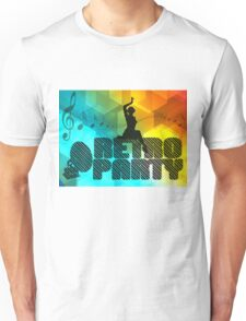 retro party Unisex T-Shirt