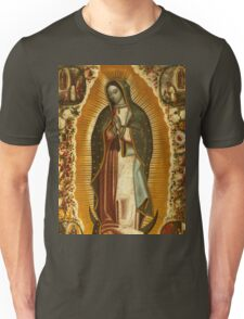 Our Lady of Guadalupe, Virgin Mary, Blessed Mother Unisex T-Shirt