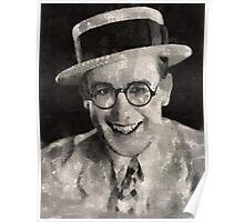 Harold Lloyd, Comedy Actor Poster