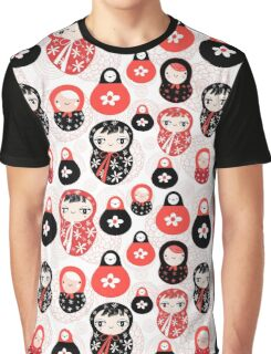 funny pattern with dolls Graphic T-Shirt