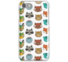 Animals portrait iPhone Case/Skin