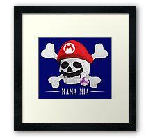 Mama Mia Framed Print