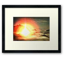 Flashpoint Framed Print