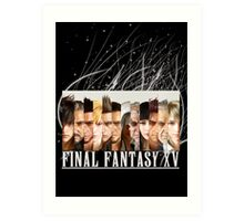 Final Fantasy xv Art Print