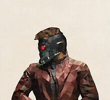 Starlord from Guardians of the Galaxy by pop-lygons