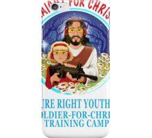 Shoot Straight for Christ's Sake! iPhone Case/Skin