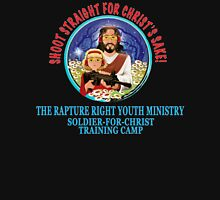 Shoot Straight for Christ's Sake! Unisex T-Shirt