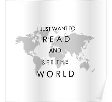 Read and See the World Poster
