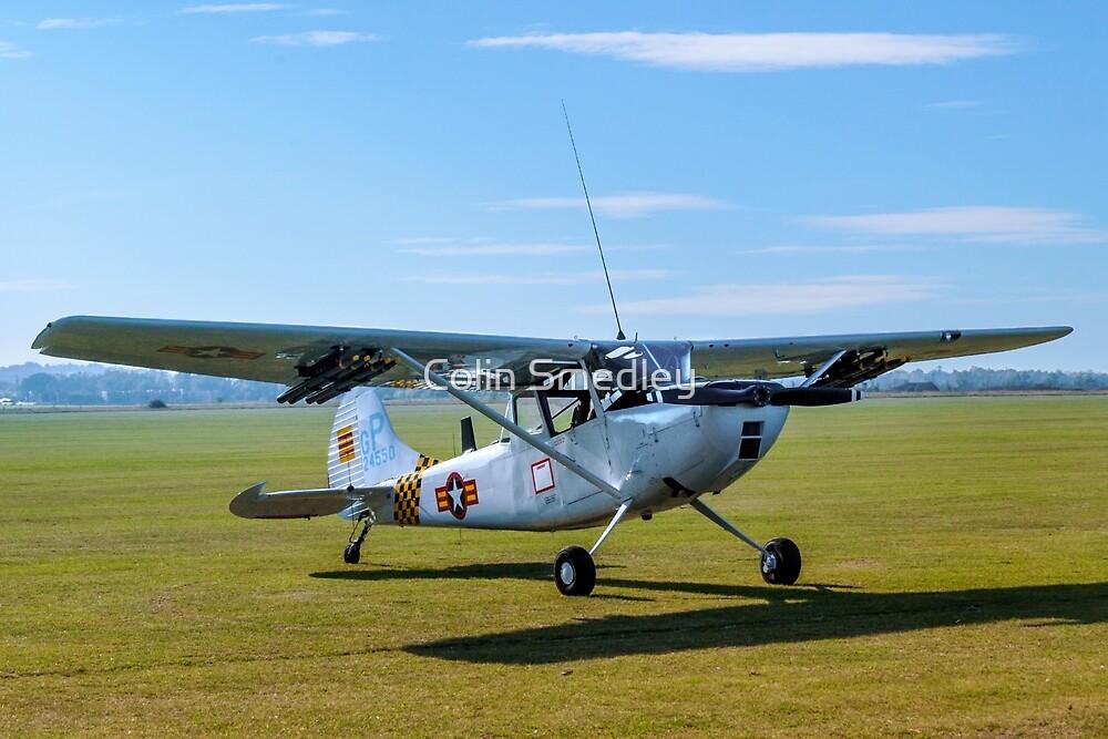 Cessna O-1E Bird Dog 24550/ GP G-PDOG by Colin Smedley