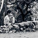 Stolen Shot of Childhood by Mathieu Longvert
