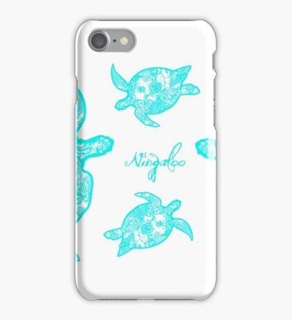 Turquoise Turtles - Ningaloo iPhone Case/Skin