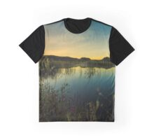 Sunrise in the Columbia Wildlife Refuge Graphic T-Shirt