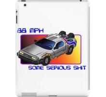 88 MPH iPad Case/Skin