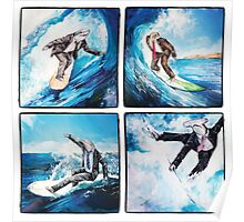 4 Surfers  Poster