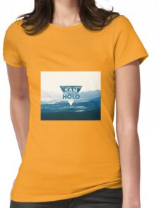 San Holo Blue Womens Fitted T-Shirt