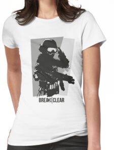 BREACH CLEAR 1 Womens Fitted T-Shirt