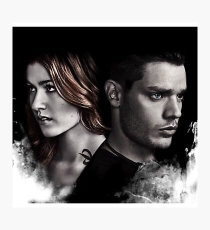 Clace Shadowhunters S2 Photographic Print