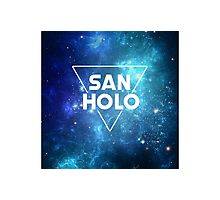 San Holo Space Photographic Print