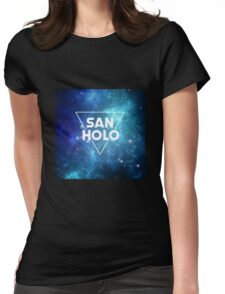 San Holo Space Womens Fitted T-Shirt