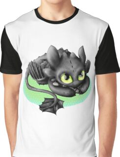 Toothless- Fish Graphic T-Shirt