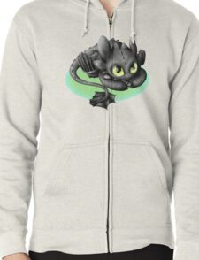 Toothless- Fish Zipped Hoodie