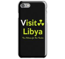 Visit Lybia iPhone Case/Skin