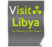 Visit Lybia Poster