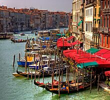 Parking Spaces (Venice Style) by Tom Gomez