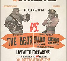 Wrestle at Teufort Arena! by squidlydoo