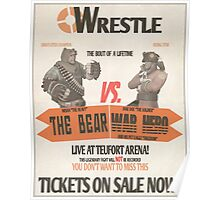 Wrestle at Teufort Arena! Poster