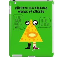 Chester the Cheese Wedge iPad Case/Skin