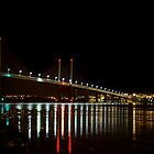 Kessock Bridge at Night by derekbeattie