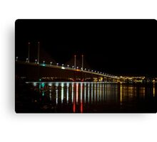 Kessock Bridge at Night Canvas Print
