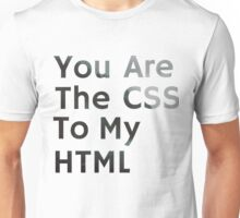 CSS/HTML Unisex T-Shirt