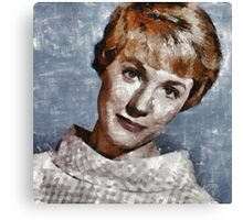 Julie Andrews Hollywood Actress Canvas Print