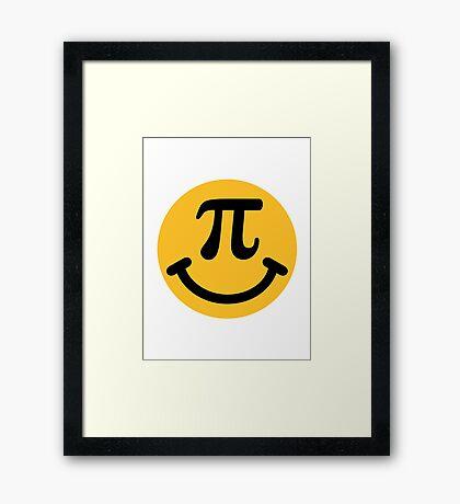 Pi Smiley Framed Print