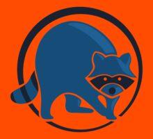 LIMITED EDITION: Blue Optimistic Raccoon Kids Tee