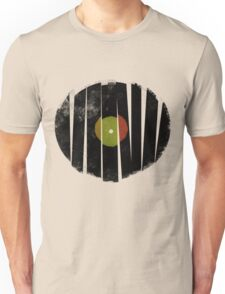 Broken Vinyl Record Retro Only Unisex T-Shirt